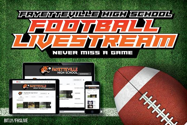 NEVER MISS A GAME! FHS Football Livestream