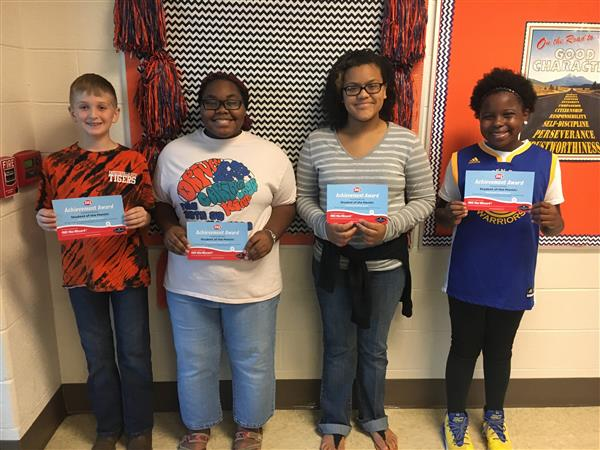 FMS Student of the Month - August 2018