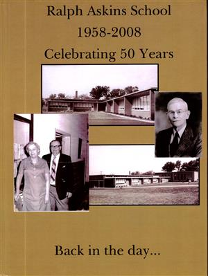 50th Anniversary Yearbook cover for Ralph Askins