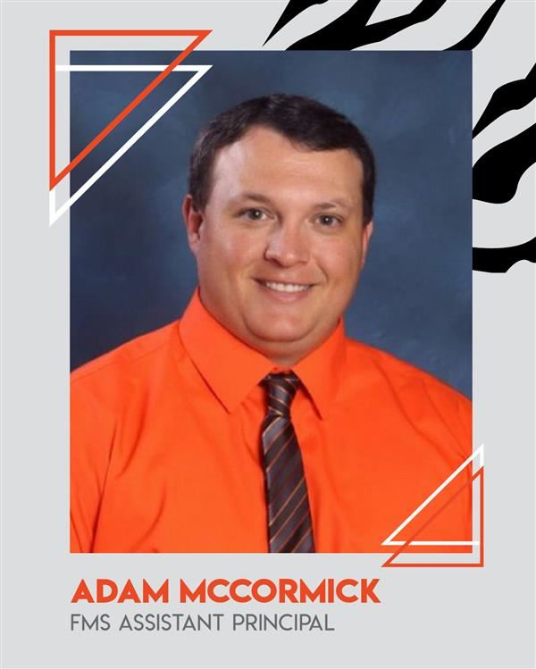 Adam McCormick to be FMS Assistant Principal & Athletic Director