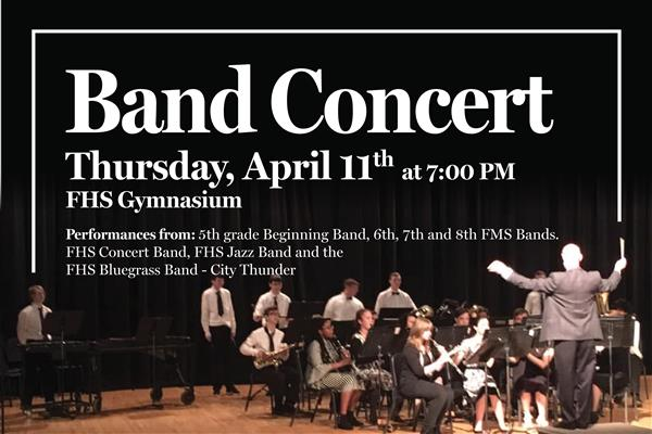 Band Concert Graphic
