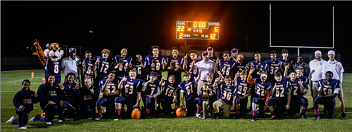 FMS Football Team wins Duck River Valley Championship 3 YEARS IN A ROW!