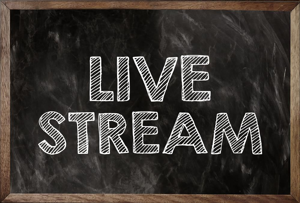 image of the word livesteam on a chalkboard