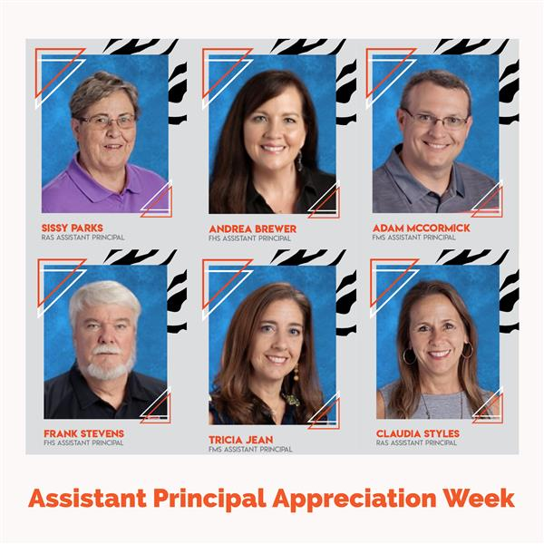 Happy Assistant Principal Appreciation Week to our Amazing Team!