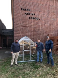 RAS Garden Club Receives Grant to Provide a Greenhouse