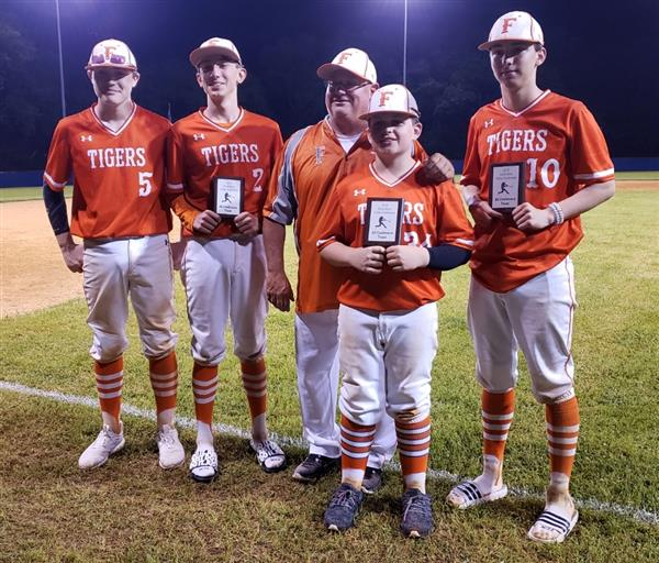 FMS Baseball All District Winners