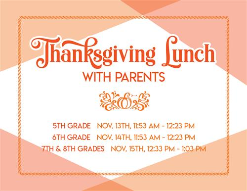 Thanksgiving Lunch Graphic