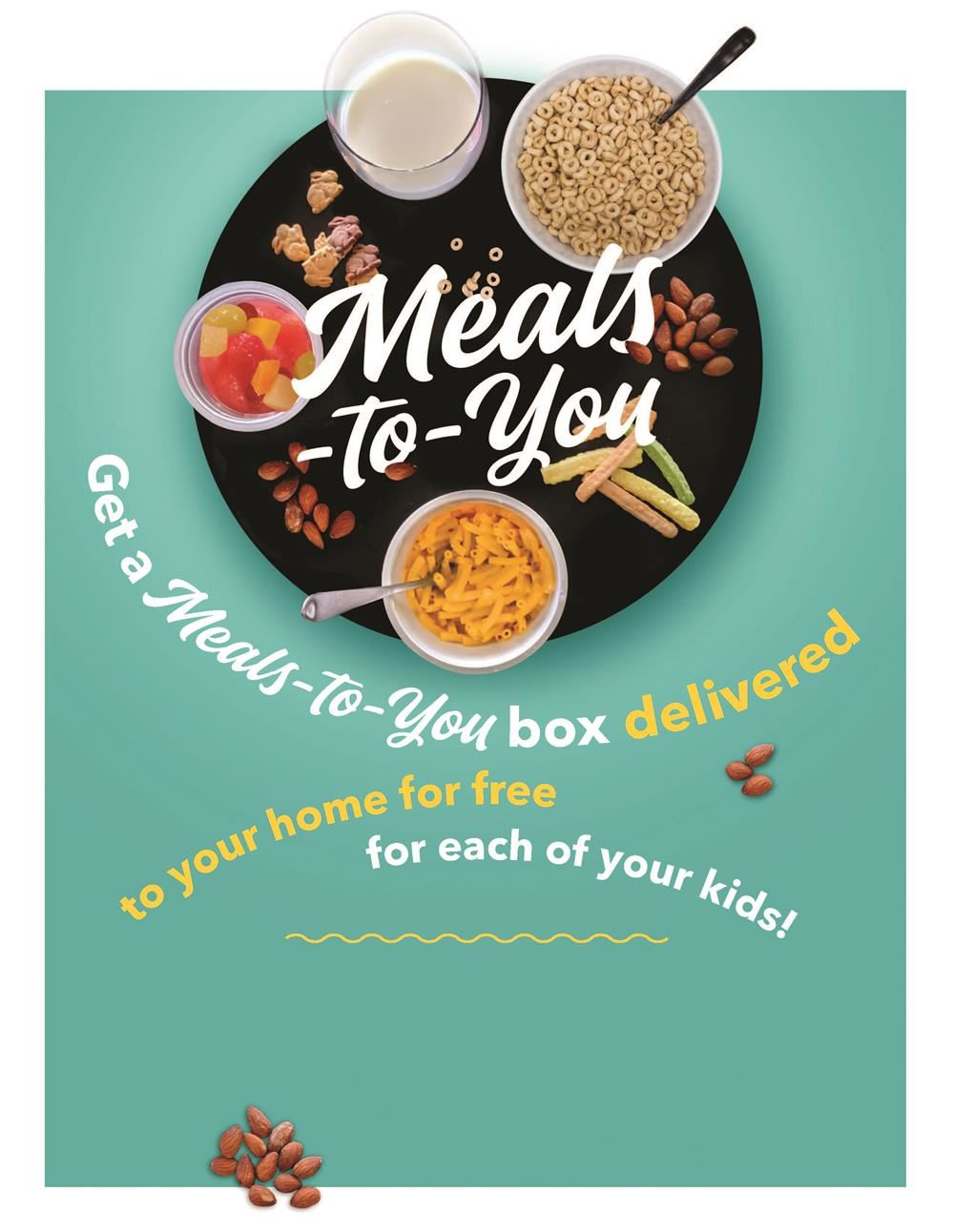 Meals to you flyer